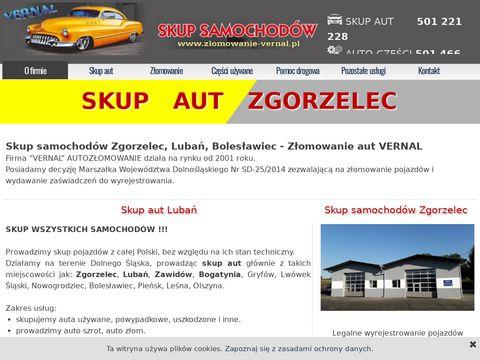 Zlomowanie-vernal.pl - skup aut Zgorzelec