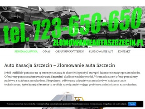 Zlomowanieautaszczecin.pl kasacja pojazdów