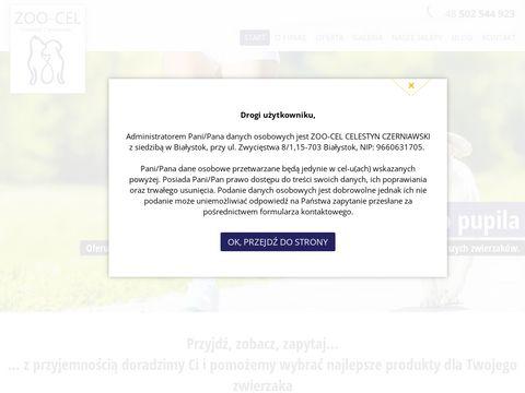 Zoo-Cel - sklep zoologiczny Białystok