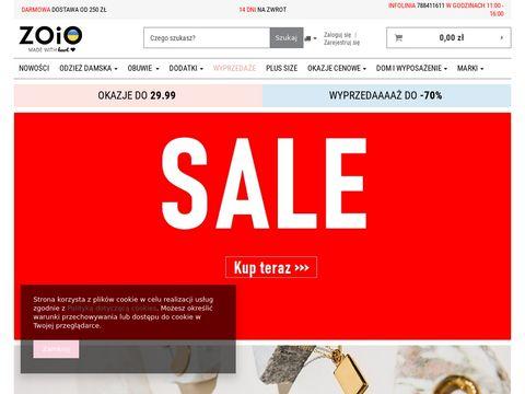Zoio.pl odzież damska sklep