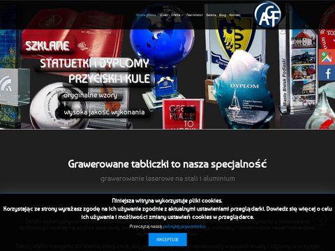 Znamionowa.pl dyplomy grawerowane
