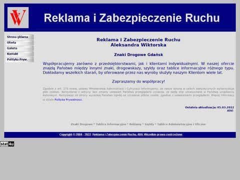 Znaki-oferujemy.info reklama i zabezpieczenie ruchu