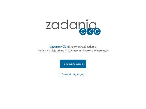 Zadaniacke.pl zbiór zadań maturalnych z matematyki