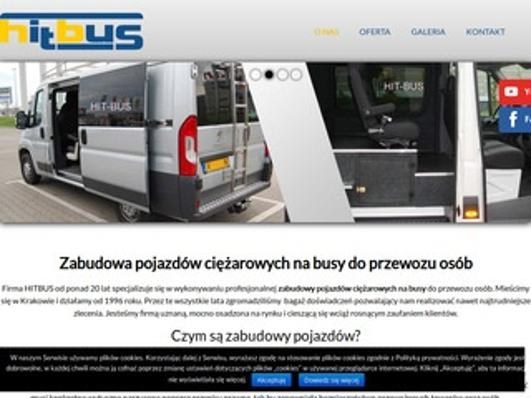 Hit-Bus kratki w pojazdach osobowych Kraków