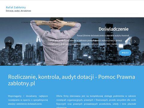 Zablotny.pl - dotacje dla placówek niepublicznych