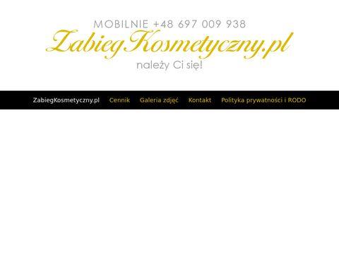 Zabiegkosmetyczny.pl mobilne usługi Warszawa