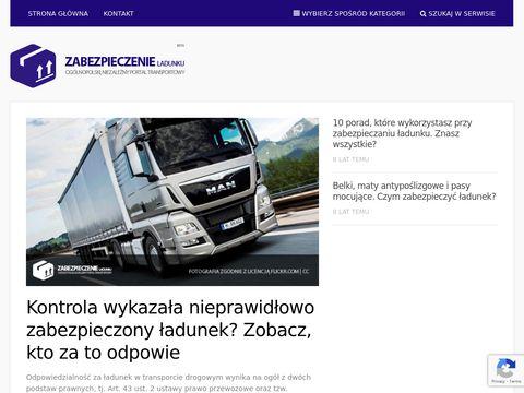 ZabezpieczenieLadunku.pl - porady i przepisy