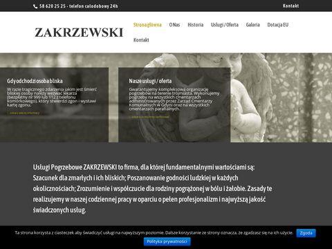 Zakrzewski-pogrzeby.pl usługi Gdynia