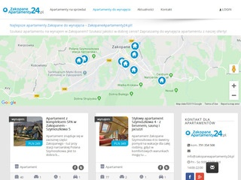 Zakopaneapartamenty24.pl luksusowe apartamenty