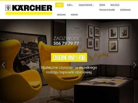 Zawszeczysto.pl Karcher Poznań usługi