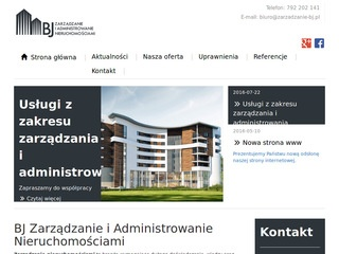 Zarzadzanie-bj.pl administracja nieruchomości Łódź