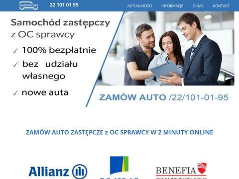 Zastepczy.org samochód zastępczy Warszawa