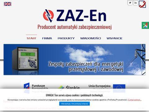 Zaz-en.pl przekaźniki zabezpieczeniowe