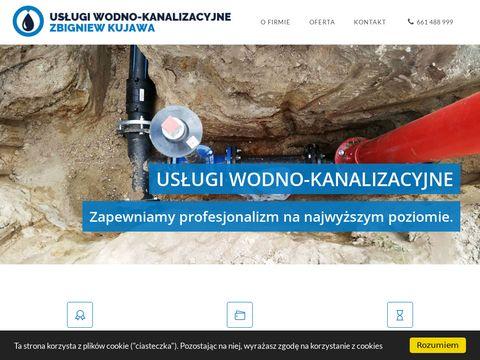 Zbigniewkujawa.pl usługi wodno-kanalizacyjne