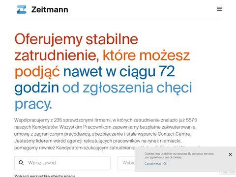 Zeitmann agencja zatrudnienia za granicą