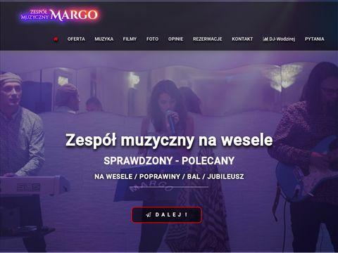 Zespolmargo.waw.pl muzyczny na wesele Warszawa