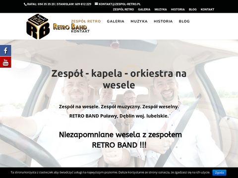 Zespol-retro.pl - zespoły muzyczne mazowieckie