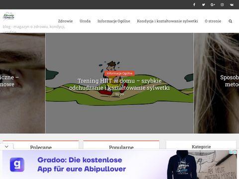 Zdrowikon.pl - zdrowie i kondycja blog, magazyn