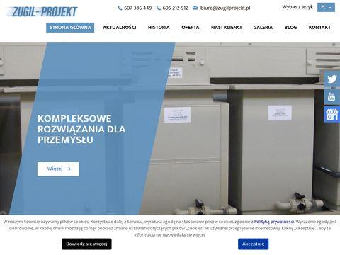 ZUGIL - Projekt maszyny malarskie
