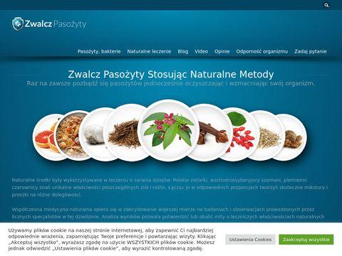 Zwalcz-pasozyty.pl - zdrowe oczyszczanie pasożytów