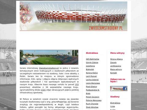 Zwiedzamstadiony.pl - polskie stadiony