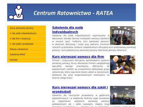 Pierwszapomoc.warszawa.pl szkolenia i kursy