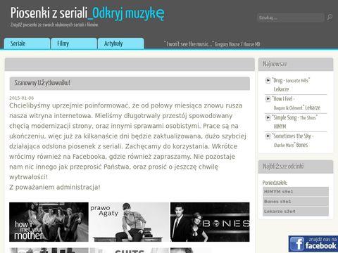 Piosenki z najpopularniejszych seriali oraz filmów
