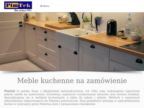 Pimtek - kuchnie nowoczesne i klasyczne