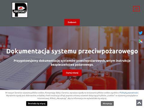 PIROTOKS Zabezpieczenia przeciwpożarowe