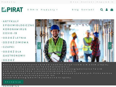 PIRAT odzież robocza Warszawa