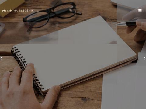 Pisanie-na-zlecenie.com.pl serwis