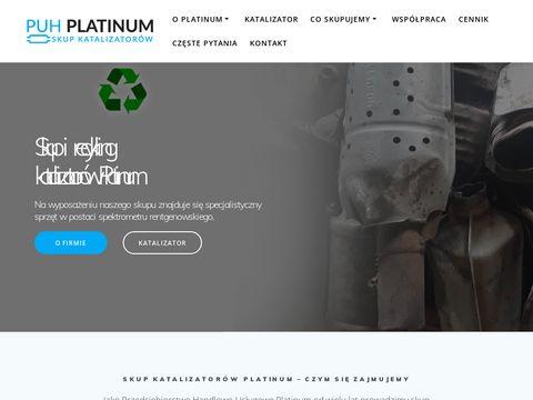 Platinum katalizatory