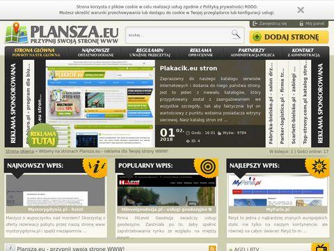 Plansza.eu - przypnij swoją stronę www