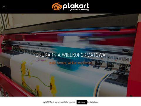 Plakart.pl reklama wizualna Warszawa