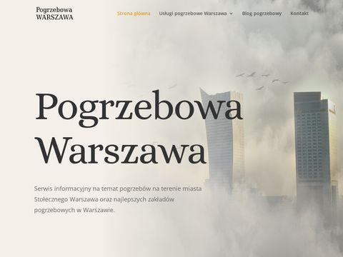 Pogrzebowawarszawa.pl usługi