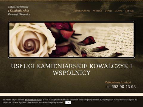 Usługi pogrzebowe i kamieniarskie Z i K Kowalczyk