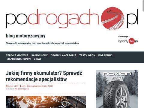 Podrogach.pl - blog motoryzacyjny
