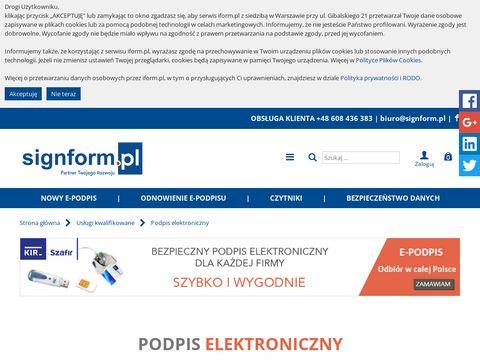 Podpis.iform.pl - Podpis Elektroniczny