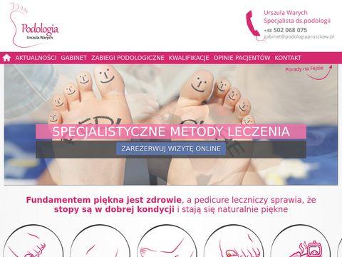 Podologiapruszkow.pl wrastający paznokieć pedicure
