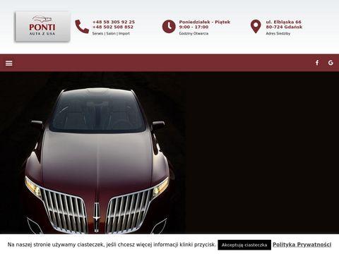 FUH Ponti s.c. import samochodów