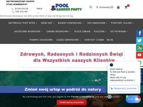 Pool & Garden Party oświetlenie basenu