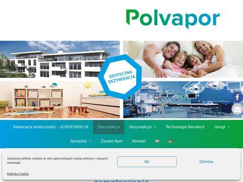 Polvapor.pl dezynfekcja i dezynsekcja