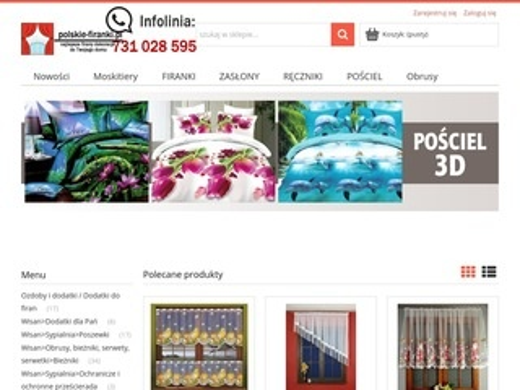 Polskie-firanki.pl - firany gotowe