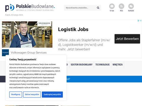 Polskiebudowlane.pl - katalog stron budowlanych