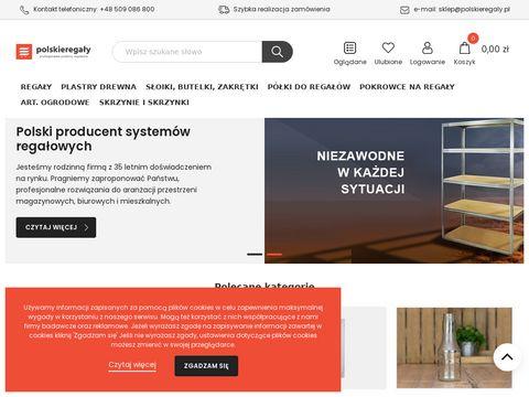 Polskieregaly.pl regały metalowe