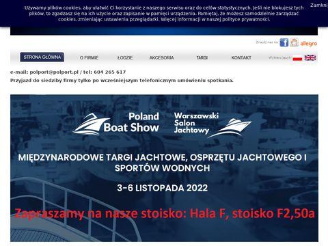 Polport - producent łodzi wędkarskich