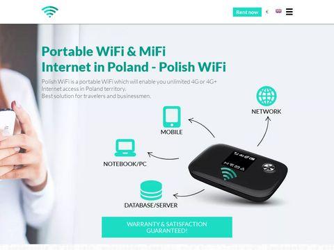 Polishwifi.com - mobilny hotspot w Polsce