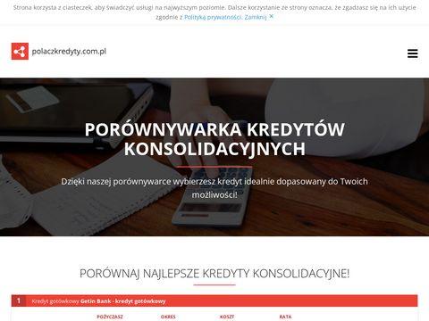 Polaczkredyty.com.pl konsolidacyjny