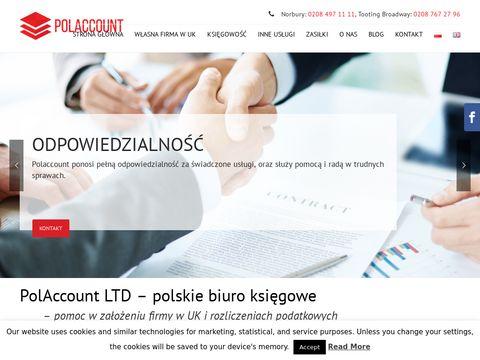 Polaccount.com zwrot podatku UK