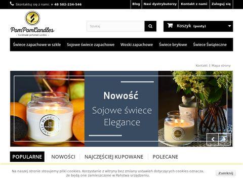 Pompomcandles.pl - ekskluzywne świece zapachowe